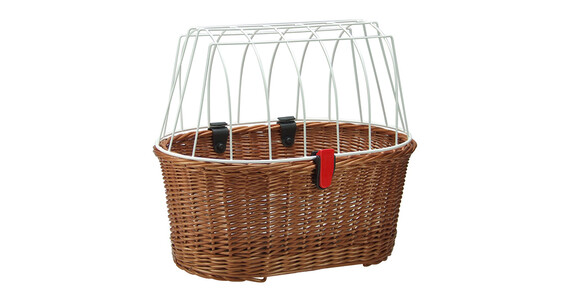 KlickFix Doggy Basket Fix Cykelkorg brun